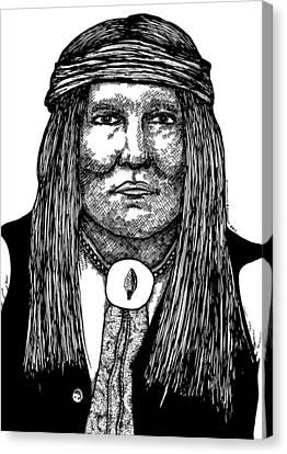 Cochise Canvas Print by Karl Addison