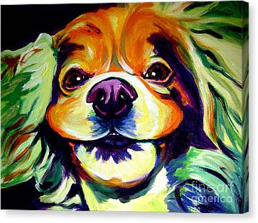 Cocker Spaniel - Cheese Canvas Print by Alicia VanNoy Call