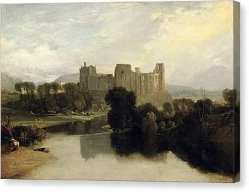 Cockermouth Castle Canvas Print by Joseph Mallord William Turner