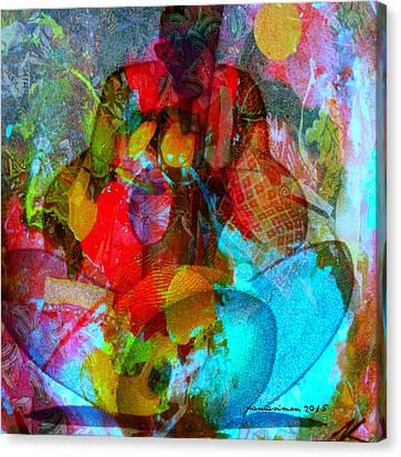 Cocktail Canvas Print by Fania Simon