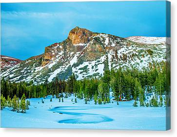 Cold Mountain Canvas Print by Az Jackson