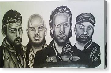 Coldplay Canvas Print by Pauline Murphy