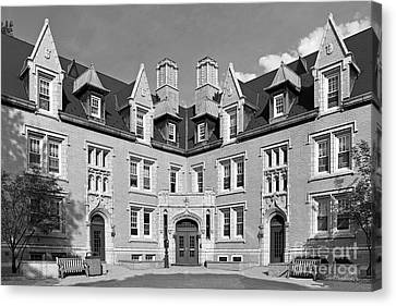 College Of Wooster Kenarden Lodge Canvas Print by University Icons