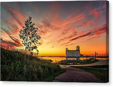 Collimgwood Terminal Canvas Print by Jeff S PhotoArt