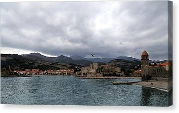 Collioure 2 Canvas Print by Andrew Fare