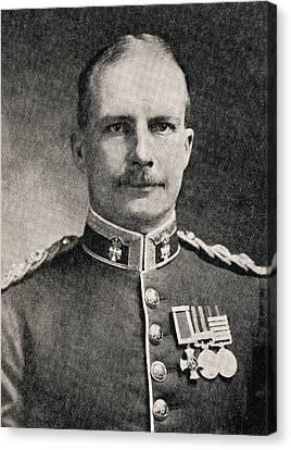 Colonel Ewen George Sinclair-maclagan Canvas Print by Vintage Design Pics