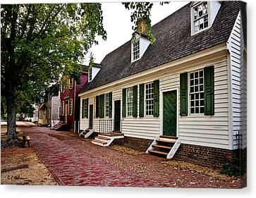 Colonial Times Canvas Print by Christopher Holmes