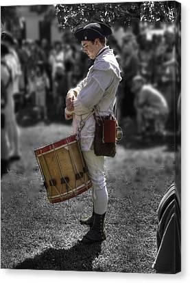 Colonial Williamsburg  V14 Canvas Print by John Straton