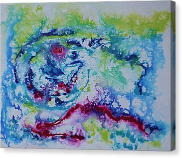 Color Explosion 1 Canvas Print by Bitten Kari