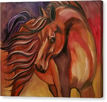 Color Me Wild Canvas Print by Leni Tarleton