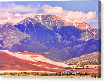 Colorado Great Sand Dunes National Park  Canvas Print by James BO  Insogna
