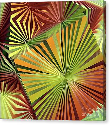 Colored Box Abstract Canvas Print by Deborah Benoit