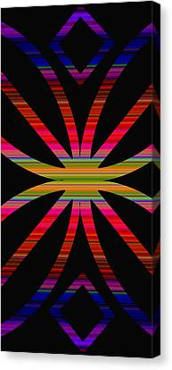 Colorful Abstract 11 Canvas Print by Aimee L Maher Photography and Art Visit ALMGallerydotcom