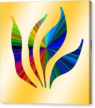 Colorful Abstract 12 Canvas Print by Aimee L Maher Photography and Art Visit ALMGallerydotcom