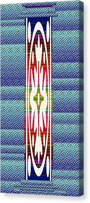 Colorful Abstract 13 Canvas Print by Aimee L Maher Photography and Art Visit ALMGallerydotcom