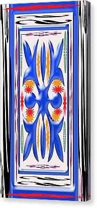 Colorful Abstract 2 Canvas Print by Aimee L Maher Photography and Art Visit ALMGallerydotcom