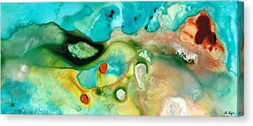 Colorful Art - Soul Shine - Sharon Cummings Canvas Print by Sharon Cummings