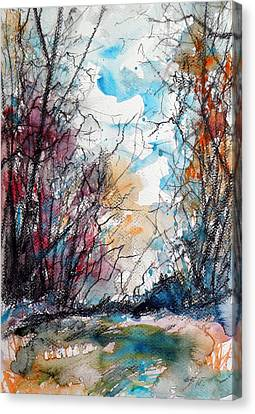 Colorful Autumn Canvas Print by Kovacs Anna Brigitta