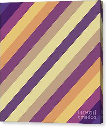 Colorful Lines Canvas Print by Amir Faysal