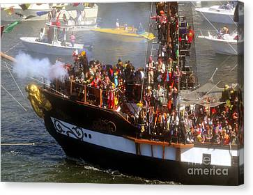 Colorful Pirates Canvas Print by David Lee Thompson
