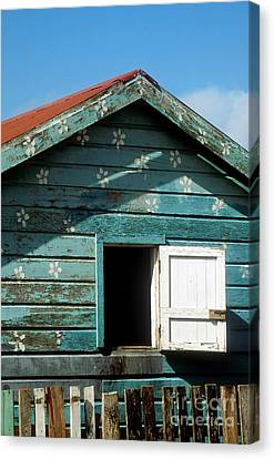 Colorful Shack Canvas Print by John Greim