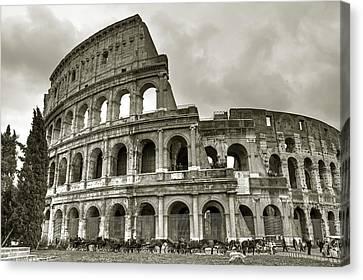 Colosseum  Rome Canvas Print by Joana Kruse