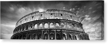 Colosseum - Rome Canvas Print by Rod McLean