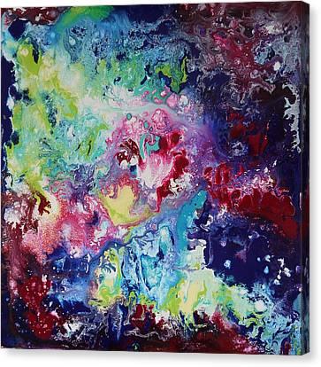 Colour Explosion Canvas Print by Bitten Kari