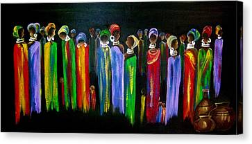 Colourful South Africa Canvas Print by Marietjie Henning
