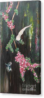 Colours Of Life Canvas Print by Usha Rai