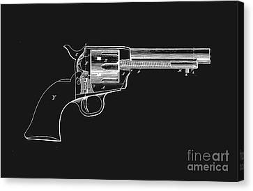 Colt Peacemaker Tee Canvas Print by Edward Fielding