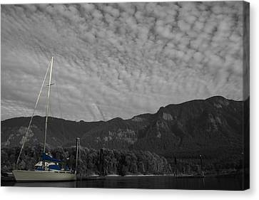 Columbia Boat Canvas Print by Dylan Punke
