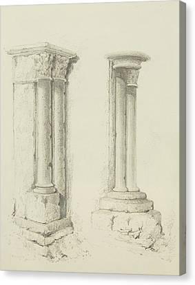 Columns Canvas Print by Thomas Leeson the Elder Rowbotham