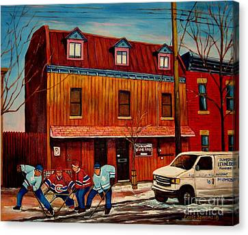 Commission Me Your Store Canvas Print by Carole Spandau