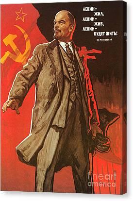 Communist Poster, 1967 Canvas Print by Granger