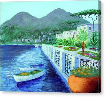 Como A Vision Of Delight Canvas Print by Larry Cirigliano