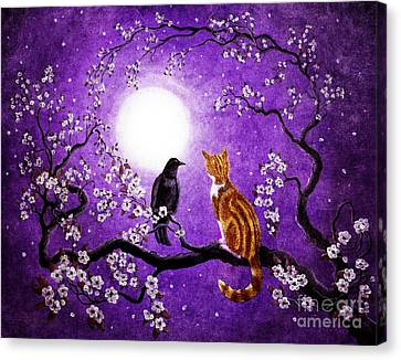 Companionable Silence Canvas Print by Laura Iverson