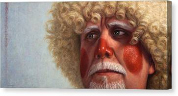 Concerned Canvas Print by James W Johnson