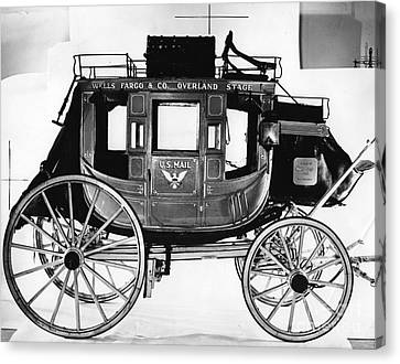 Concord Stagecoach Canvas Print by Photo Researchers, Inc.