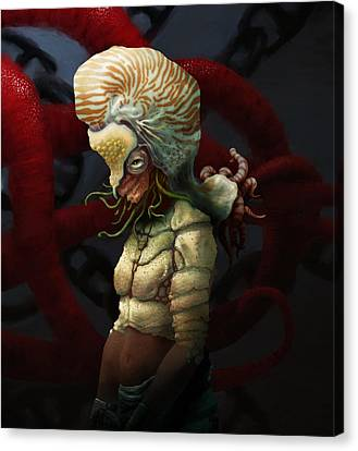 Condemnation Of The Nautilus Canvas Print by Ethan Harris