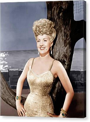 Coney Island, Betty Grable, 1943 Canvas Print by Everett