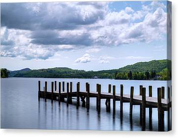 Coniston Water - Lake District Canvas Print by Joana Kruse