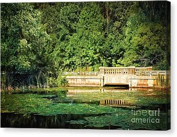 Connecticut Scenic Canvas Print by HD Connelly