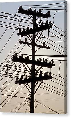 Connection Overload Canvas Print by Gerard Fritz