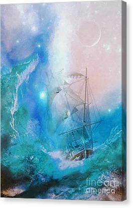 Conqueror Canvas Print by Olga Hamilton