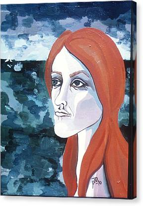Contemplation Of Serenity Canvas Print by Pamela Maloney