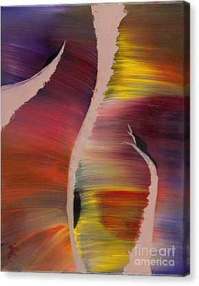 Contour Illusions Canvas Print by Nycole Chirhart