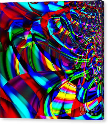 Contradictions . S14.s15 Canvas Print by Wingsdomain Art and Photography