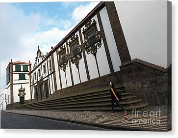 Convent In Azores Islands Canvas Print by Gaspar Avila