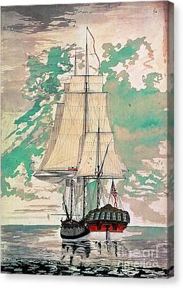 Cook: Hms Resolution Canvas Print by Granger